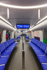 C2 interior (Woodpeckar) Tags: blue color germany underground subway munich münchen bayern publictransit metro interior siemens ubahn c2 mvg eos5d georgbrauchlering ubahnmünchen swm woodpeckar 5dii