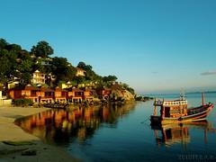 Ko Phangan - Had Rim / Thailand (Klauss Egon) Tags: sunset summer sun sol praia beach thailand boat asia barco sony pôrdosol verão kophangan kophiphi tailândia ásia