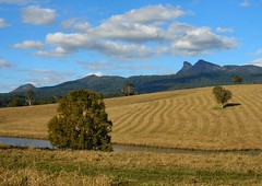 Harvest Time (jenni747) Tags: mountains nature water clouds patterns harvest bej
