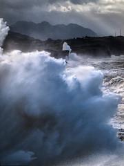 Ola/Wave (Jose Antonio. 62) Tags: espaa storm water colors beautiful photography spain agua waves asturias gale tormenta olas galerna