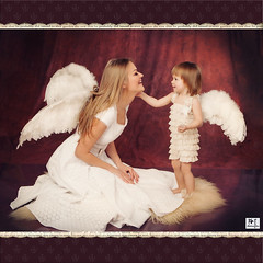 My Mom is an Angel (MissSmile) Tags: family portrait baby love girl happy child sweet memories happiness angels tender misssmile