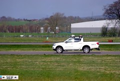 Mitsubishi L 200 Glasgow 2014 (seifracing) Tags: rescue cars scotland airport europe traffic britain glasgow transport scottish police security emirates vehicles nhs emergency spotting services recovery brigade ecosse 2014 seifracing