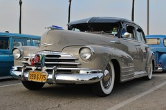 Mooneyes X-Mas Party 2016 (USautos98) Tags: 1948 chevrolet chevy fleetline bomb