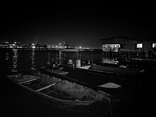 Chew Jetty at 22:13 (George Town, Penang, Malaysia)