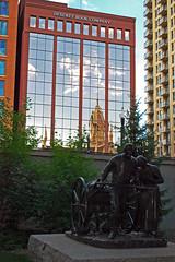 reflections (BehindBlueEyes) Tags: saltlakecity utah ut urban