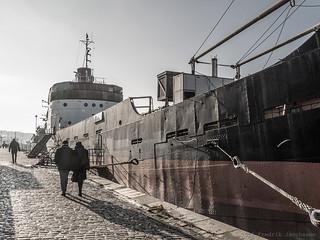 Old tanker