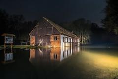 Rennersdorfer See (matthias_oberlausitz) Tags: euldorf mühle rennersdorf stausee see damm hochwasser schutz oberlausitz sachsen nacht eulmühle