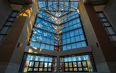 Crowne Centre (Nino Méndez) Tags: rokinon 10mm f8 sony a6000 architectural arquitectura colores colors stained glass epic