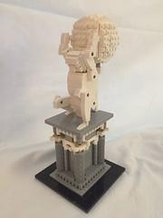 The Atlas sculpture view 2