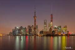 Shanghai at Dawn (Shi Yu) Tags: shiyuphotographyyushiphotographysunstonephotography shanghai china skyscrapers
