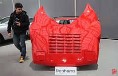 La carosserie  de la Lancia comme neuve ! (mamnic47 - Over 7 millions views.Thks!) Tags: grandpalais 09022017 venteauxenchèresbonhams venteauxencheres voituresanciennes voitures img0261 lancia capot lanciastratoscoupé1977