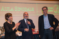 Antonella Gentili, Arnaldo Porro e Maurizio Iesari