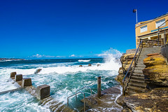 DSC01636 (Damir Govorcin Photography) Tags: coogee beachsurf lifesaving club sydney waves water rocks building architecture landscape natural light sky clouds zeiss 1635mm sony a7ii wide angle perspective creative composition