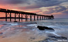 0S1A5431enthuse (Steve Daggar) Tags: catherinehillbay sunset seascape nswcentralcoast gosford wharf jetty firetwirling steelwooltwirling longexposure