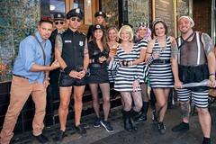 A Rowdy Bunch (l plater) Tags: 2017sydneygayandlesbianmardigrasparade theedinburghcastle edinburghcastlehotel pittstreet cops prisoners