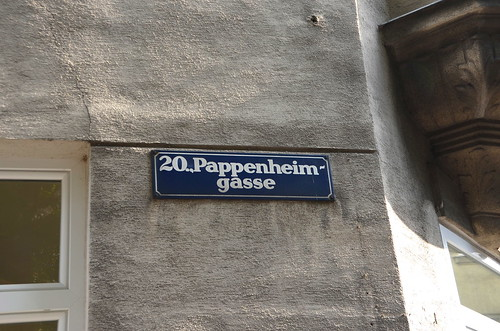 Pappenheimgasse in the 20th District