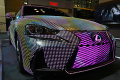 2017 Lexus IS coated in 42,000 LEDs -- 2017 New York Auto Show (@harryshuldman) Tags: lexus is mercedes benz gt r gtr car coupe luxury auto nyc new york city show manhattan canon eos 7d 1018mm wide angle