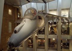 IMGP7295 (mattbuck4950) Tags: february london museums aircraft history londonboroughofsouthwark aeroplanes military camerapentaxk50 lenssigma18250mm royalairforce imperialwarmuseum 2017 harrierjumpjet england unitedkingdom gbr