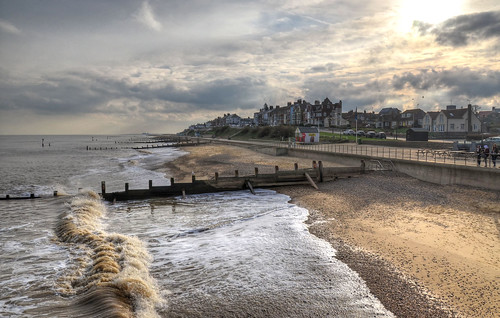 Late afternoon at Southwold, Suffolk