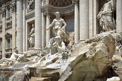 Trevi Fountain (AMaleki) Tags: architecture italy rome sculpture stone trevifountain