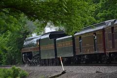 DSC_0311 (Andy961) Tags: delaplane virginia va railway railroad train norfolkwestern nw classj steam locomotive engine 484 611