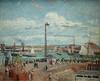 PISSARRO Camille,1903 - L'Anse des Pilotes et le Brise-lames Est, Le Havre, Après-Midi, Temps ensoleillé (Le Havre) - 0