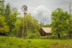 Auburn As It Was (buffdawgus) Tags: abandonedbarn auburn california canon5dmarkiii canonef24105mmf4lisusm lightroom6 northerncalifornia placercounty sierranevadafoothills spring springtime topazsw windmill