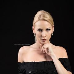 Jennifer Benner - Portrait (Dana Brady -Thank you for 1 million views) Tags: portrait classy lady blonde blackdress