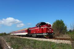 Locomotive 55 195 (Krali Mirko) Tags: bdz train diesel locomotive faur 55195 dragomirovo bulgaria railway railroad transport българия влак локомотив драгомирово