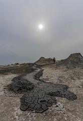 Mud volcano (emilqazi) Tags: mud volcano landscape dashgil alat azerbaijan travel eruption