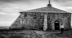 St Aldhelms Chapel (frattonparker) Tags: nikond3100 nikkor35mmf18 raw lightroom6 panorama monochrome cloudwhisperer church dorset