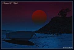 Spiaggia di San Giorgio con barca - Aprile-2017 (agostinodascoli) Tags: art digitalart digitalpainting photoshop photopainting spiaggia mare sangiorgio sciacca sicilia nikon nikkor agostinodascoli creative nature barca colore texture landscape paesaggi cielo
