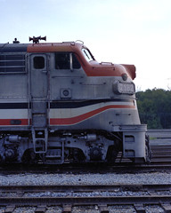 Cab Profile (DJ Witty) Tags: passenger passengertrain commuter freight dieselelectric locomotive train rr railroad emd f7 f9ph