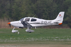 D-ELAF - 2010 build Cirrus SR20s, inbound to Runway 24 at Friedrichshafen during Aero 2017 (egcc) Tags: 2055 aero aerofriedrichshafen aerofriedrichshafen2017 bodensee cirrus cirrusdesign delaf edny fdh friedrichshafen lightroom n213cl sr20