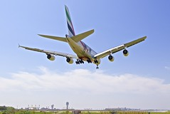 BCN/LEBL: Emirates Airbus A380-861 A6-EDG MSN023 (Roland C.) Tags: bcn lebl airport barcelona elprat spain a380 a388 a380800 a380861 a6edg msn023 emirates emiratesairlines ek