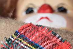 ... patchwork ... (wolli s) Tags: clothtextile flickr hmm macromondays clown doll fabrics macro makro patch