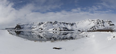 Iceland (richard.mcmanus.) Tags: iceland arctic mountains vik landscape reflection lake pond snow mcmanus