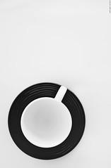 No coffee. (Carlos Arriero) Tags: nikon d800e carlosarriero tamron 35mm f18 blackandwhite blancoynegro bw noiretblanc monochrome taza composición composition imaginative imaginación creative creativa cup tazadecafé cupofcoffee nocoffee