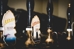 April Photo A Day 2017.  12/30 (Ruthie H) Tags: beer pump bar arran brewery ale bitter