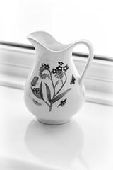 Small Jug (Best Snaps) Tags: window light natural canon stilllife blackandwhite monochrome object