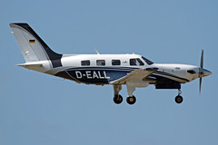 D-EALL LMML 05-04-2017 (Burmarrad) Tags: airline private aircraft piper pa46500tp meridian registration deall cn 4697050 lmml 05042017