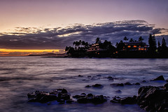 Whaler's Cove, Koloa, Kauai (drpeterrath) Tags: canon eos5dsr 5dsr poipu kauai hawaii ocean pacificocean nightphotography color longexposure travel outdoor silhouette