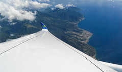 Dominica 🇩🇲 (Maxime C-M ✈) Tags: airplane new france caribbean sea fly cloud blue nature forest mountain passion world international discovery city travel avion aircraft 2017 antilles