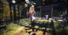 Io Non So (lndya and Leeaker) Tags: amitie posesballoons duvet day lantern pergola table lightstring heater cosmopolitanevent lfe top short sneakers lfemainstore