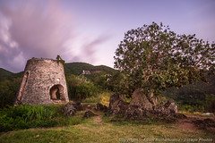 Peace Hill Ruins (3scapePhotos) Tags: cinnamonbay hawksnestbay jostvandyke peacehill saintjohn stjohn susannabergplantation tortola usvirginislands usvi westindies ancient architecture building caribbean color contemporary destination dusk evening island landscape landscapes longexposure mill modern nd110 old ruined ruins scenic scenics sugarmill sunset tradewinds travel tropical tropics vacation vertical virginislands wallart wind windmill