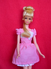 VINTAGE MOD GROWIN' PRETTY HAIR FRANCIE BARBIE DOLL w/ PINK N PRETTY OUTFIT (laika*2008) Tags: vintage mod growin pretty hair francie barbie doll w pink n outfit