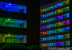"""I Wish To Communicate With You"" @ Hull City of Culture 2017 (keithhull) Tags: iwishtocommunicatewithyou instillation hullcityofculture2017 thorntonestate light nightshot flats hull hull2017 silviopalladino"
