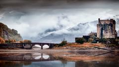 Eileen Donan Castle (johnthomas61) Tags: castle eileen donan reflection highlands scotland clouds