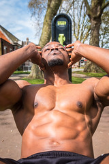 IMG_6055 (Zefrog) Tags: zefrog london uk muscle man portraiture sixpack pecs fit fitness blackman iyo personaltrainer bodybuilder