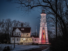 12.26.2016 Boxing Day (Kristine Runner) Tags: fineartamericaupload lighthouse 2017sale zip faaupload christmas milwaukeecountypark lakepark